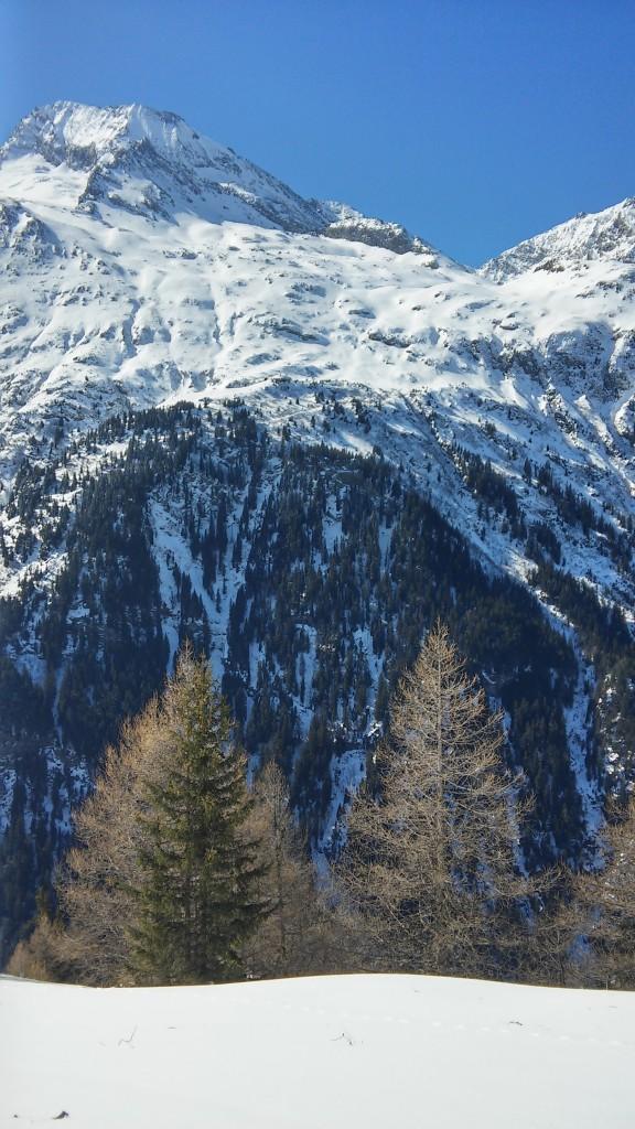 Le glacier de la Gurraz au Monal
