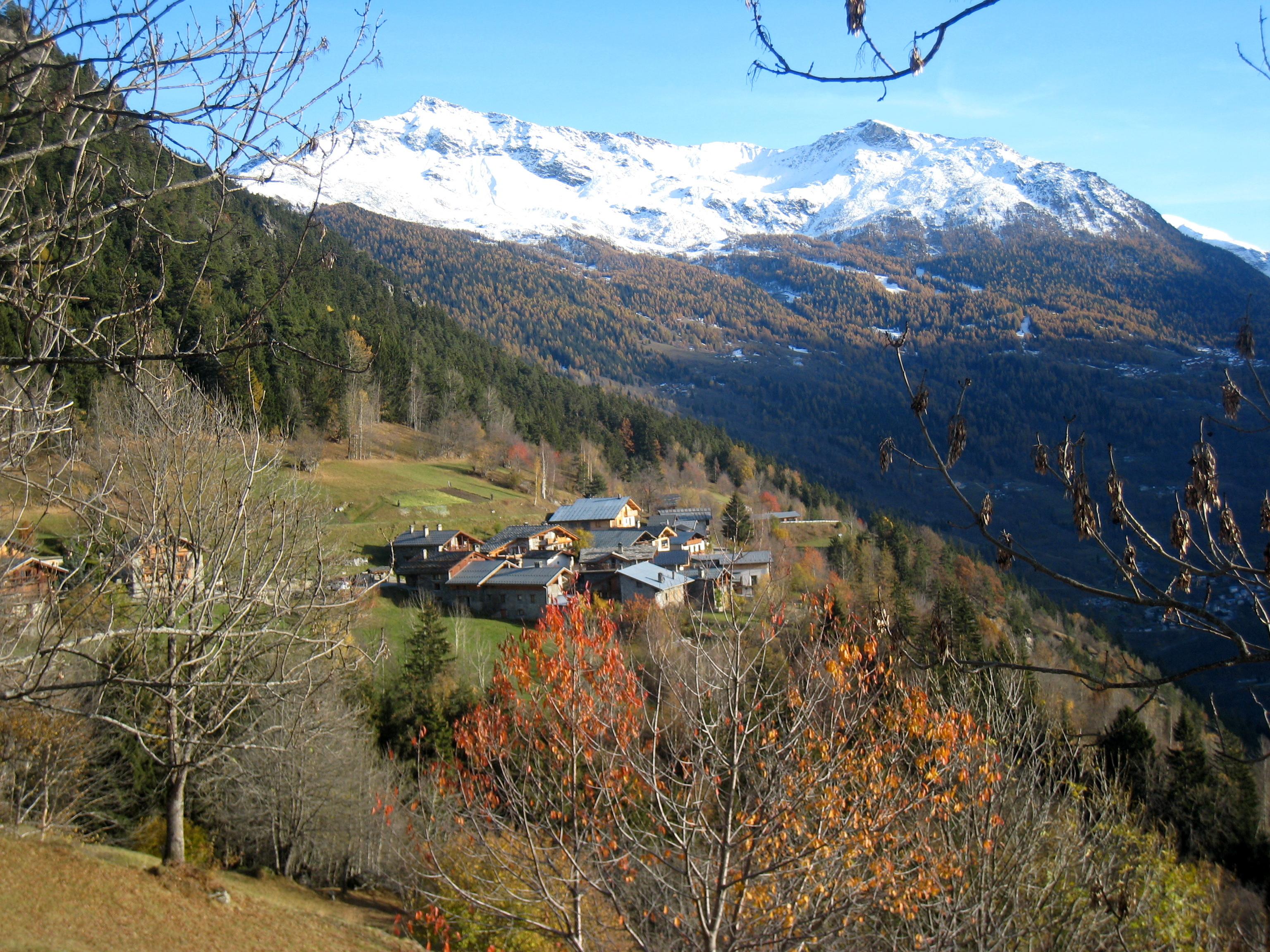 Le village du Mousselard