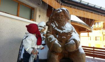 Sculptures pour le bonheur des plus jeunes