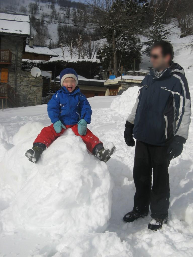 Le Mousselard - Bonhomme de neige