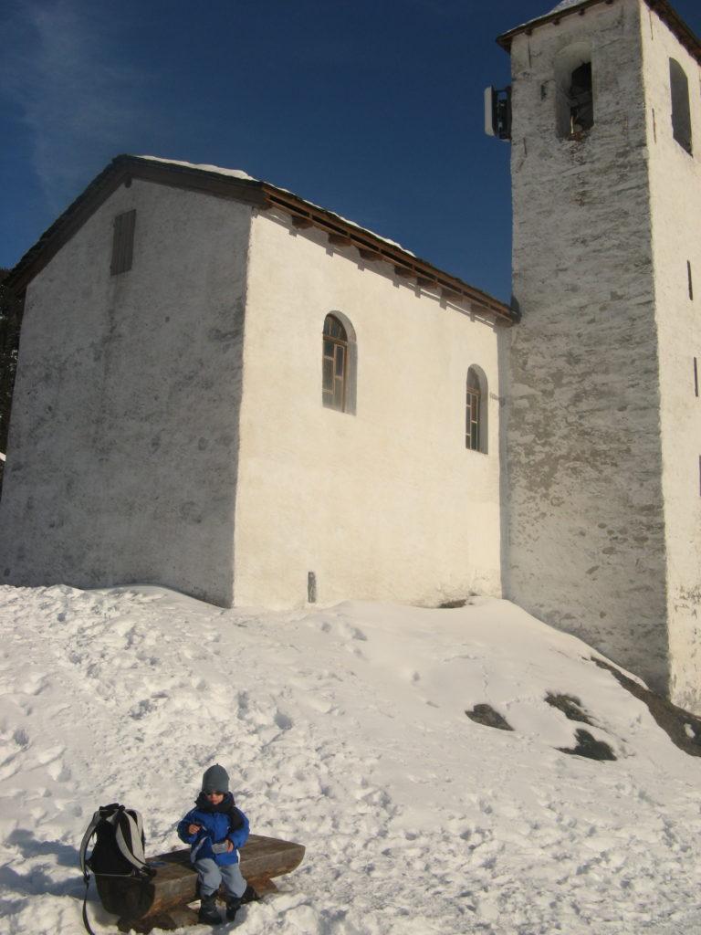 Le Mousselard - Chapelle hiver rando enfants