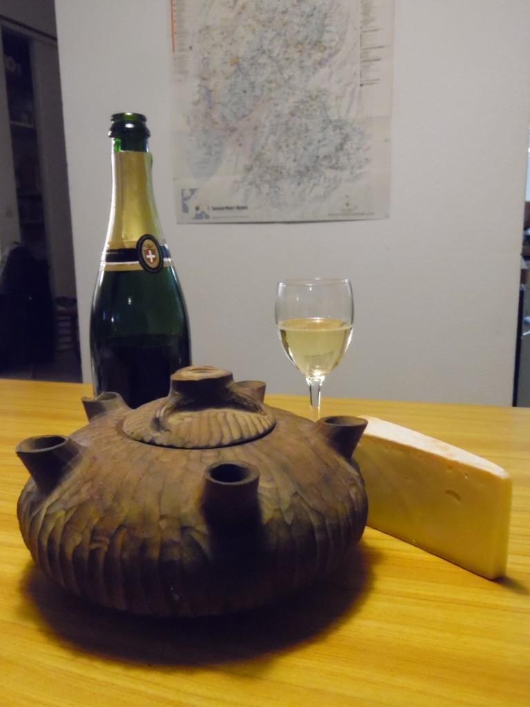 Grolle et vin de Savoie - Ecombelles
