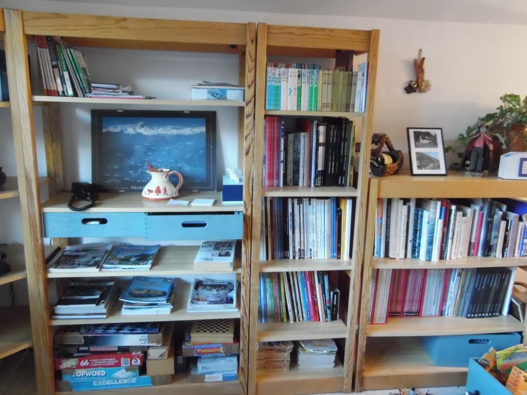 Bibliotheque - Ecombelles