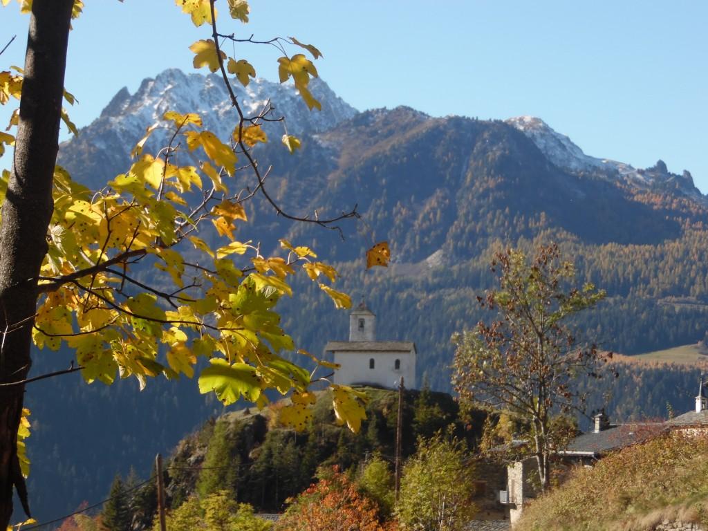 Chapelle automne