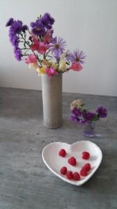 Fleurs et fruits du jardin
