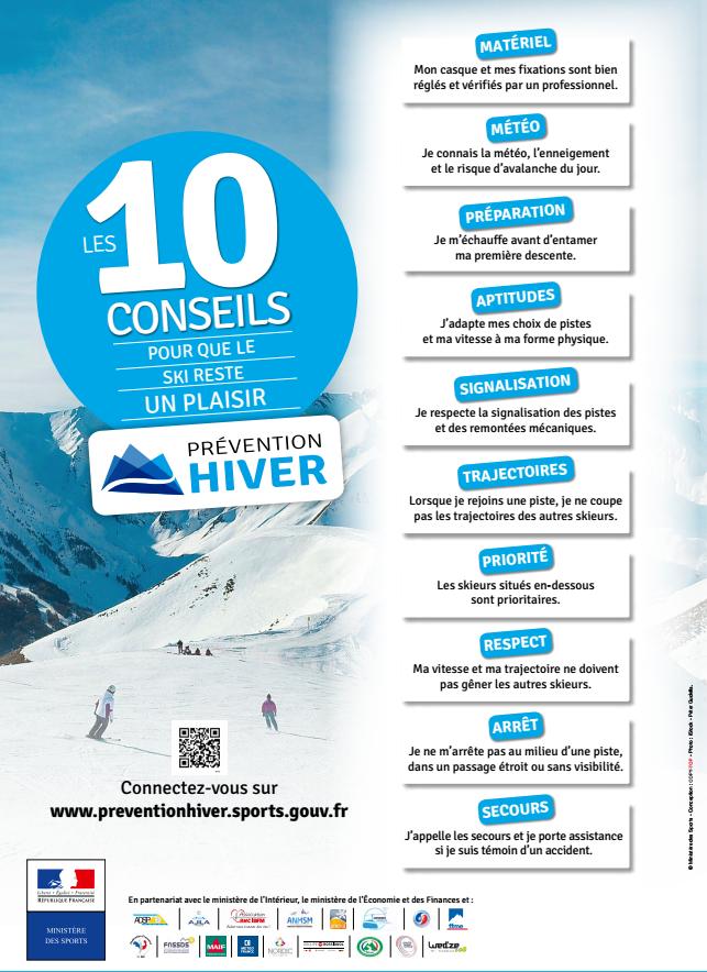 10 conseils pour que le ski reste un plaisir