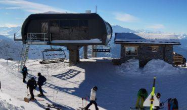 Le nouveau télésiège de Mont Valaisan